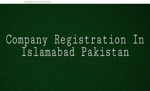 Company Registration in Islamabad