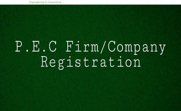 PEC Firm Registration